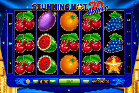 stunning hot 20 deluxe bf games casino slots