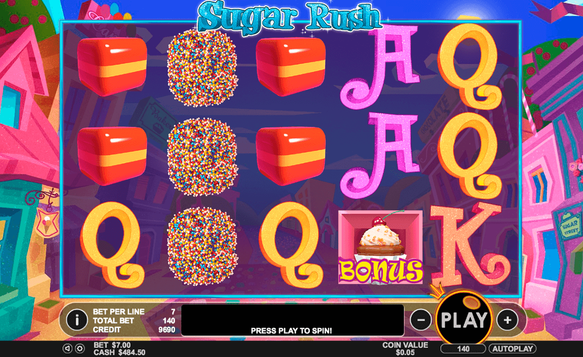 sugar rush pragmatic casino slots