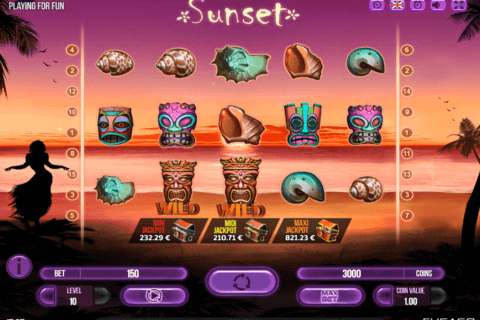 SUNSET FUGASO CASINO SLOTS