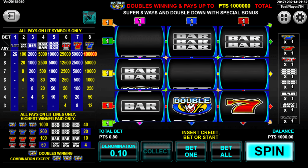 Super 8 Ways Ultimate Slot Machine Online ᐈ Spadegaming
