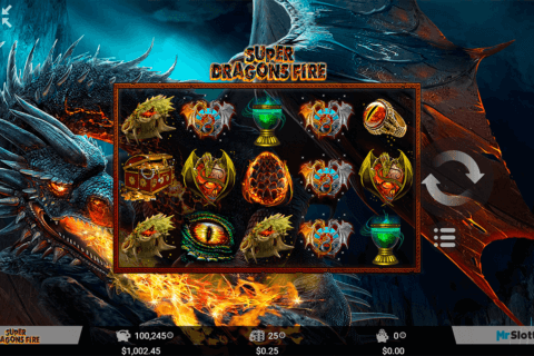 SUPER DRAGONS FIRE MRSLOTTY CASINO SLOTS