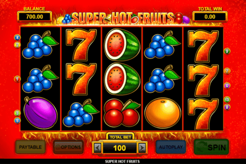 SUPER HOT FRUITS INSPIRED GAMING CASINO SLOTS