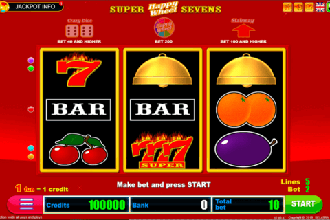 SUPER SEVENS HAPPY WHEEL BELATRA CASINO SLOTS