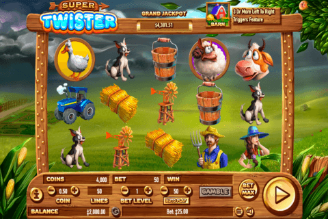 SUPER TWISTER HABANERO CASINO SLOTS