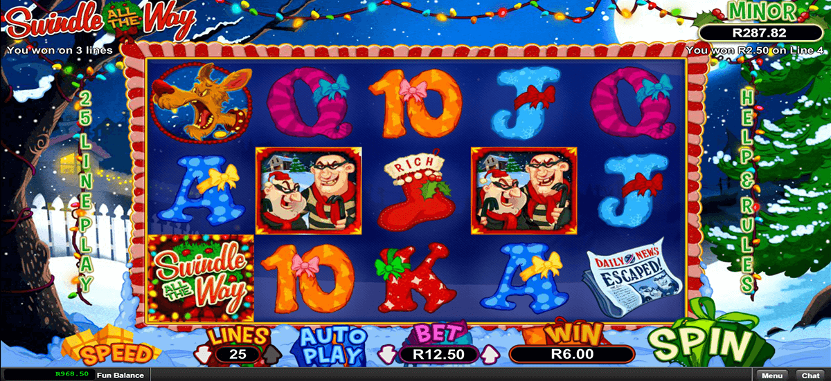 SWINDLE ALL THE WAY RTG CASINO SLOTS