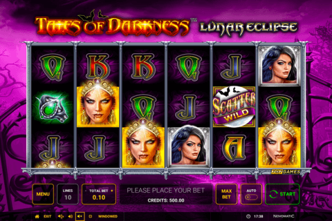 TALES OF DARKNESS LUNAR ECLIPSE NOVOMATIC CASINO SLOTS