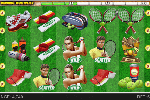 tennis champion spinomenal casino slots