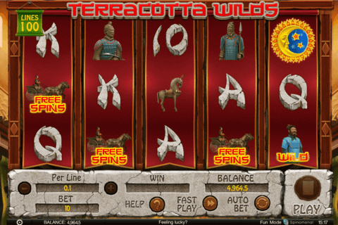 terracota wilds spinomenal casino slots