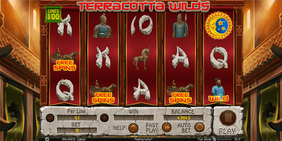 Terracotta Wilds Slot Review & Free Instant Play Game