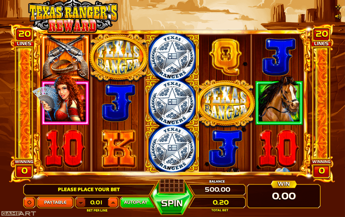 Spiele Texas Rangers Reward - Video Slots Online