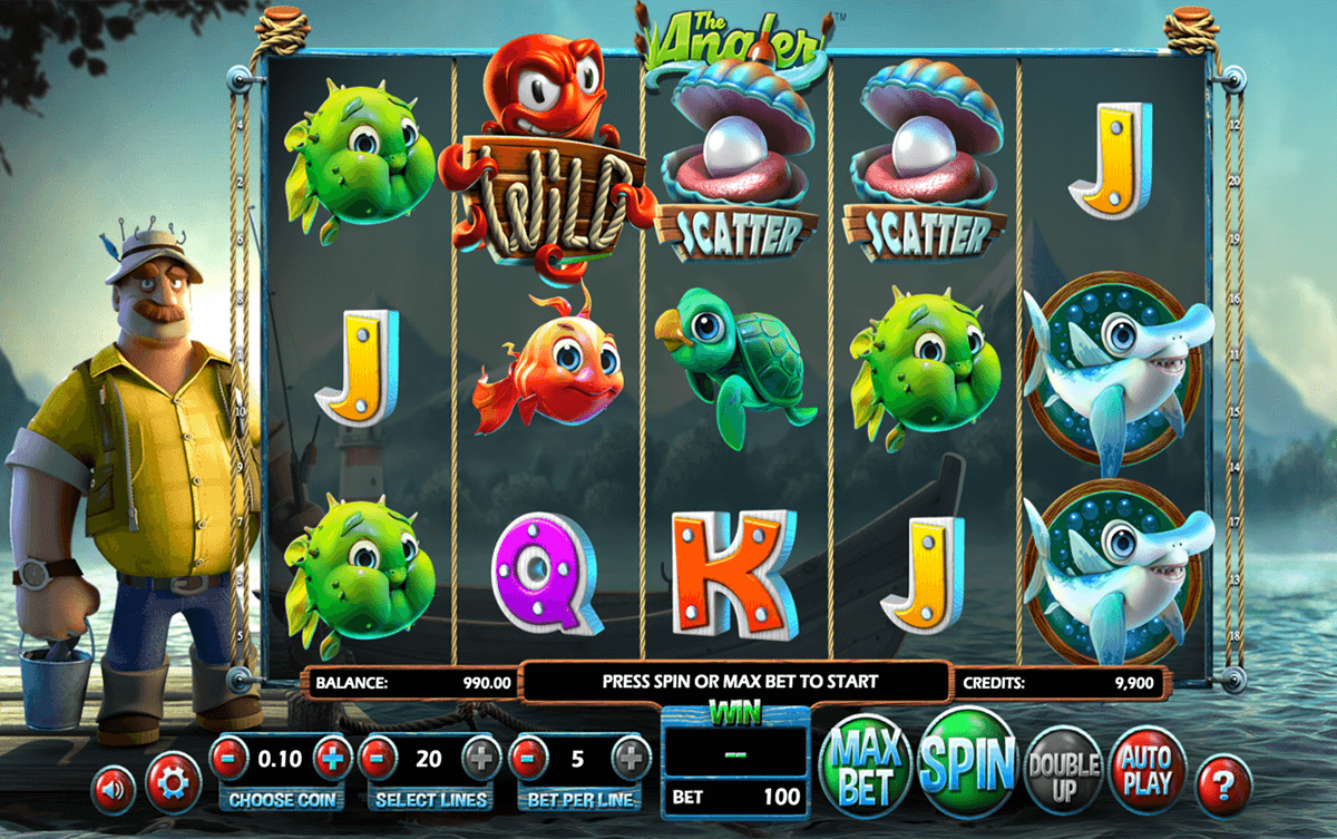 THE ANGLER BETSOFT CASINO SLOTS