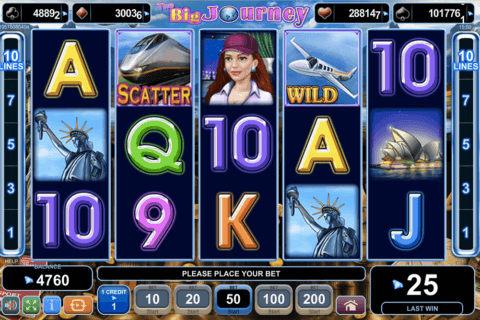 the big journey egt casino slots