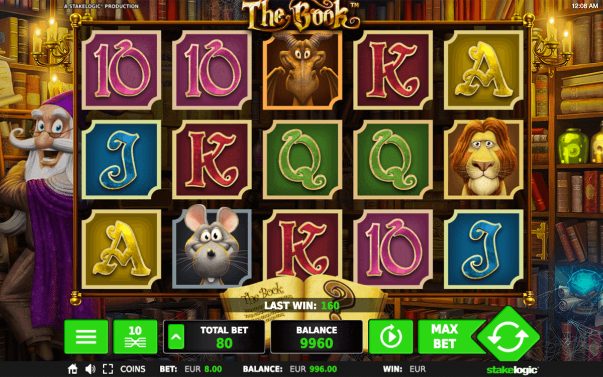 THE BOOK STAKE LOGIC CASINO SLOTS