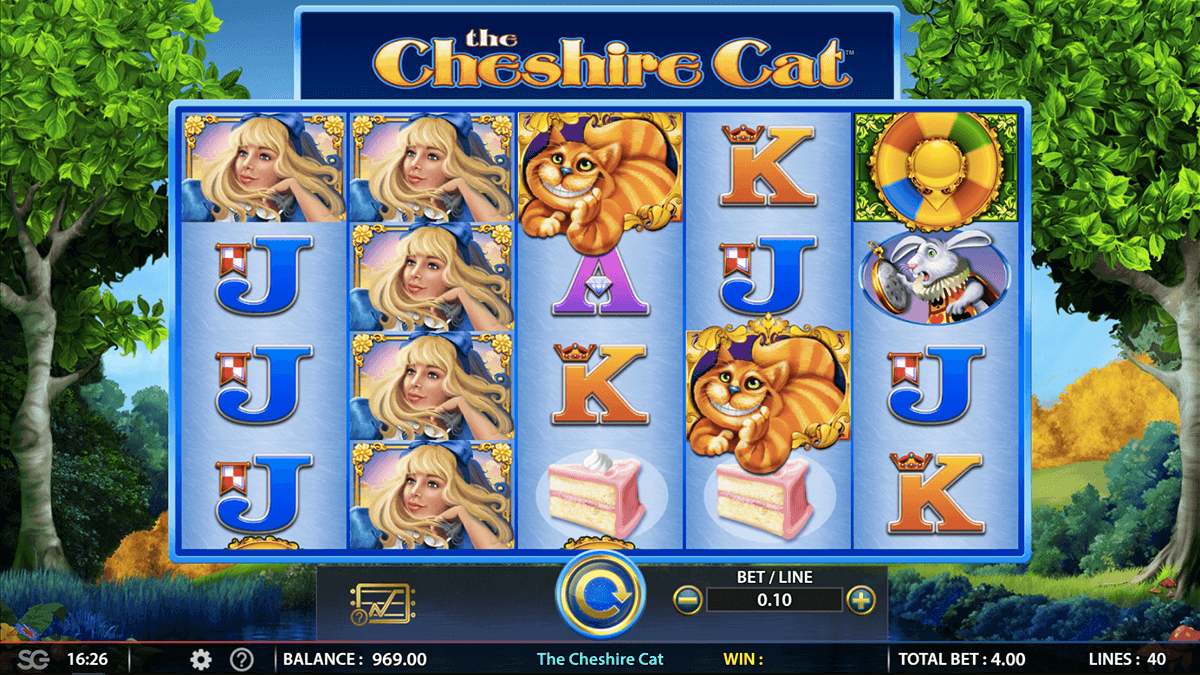 The Cheshire Cat Slot Machine Online ᐈ WMS™ Casino Slots