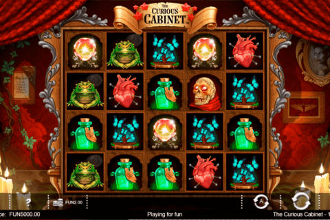 THE CURIOUS CABINET IRON DOG CASINO SLOTS