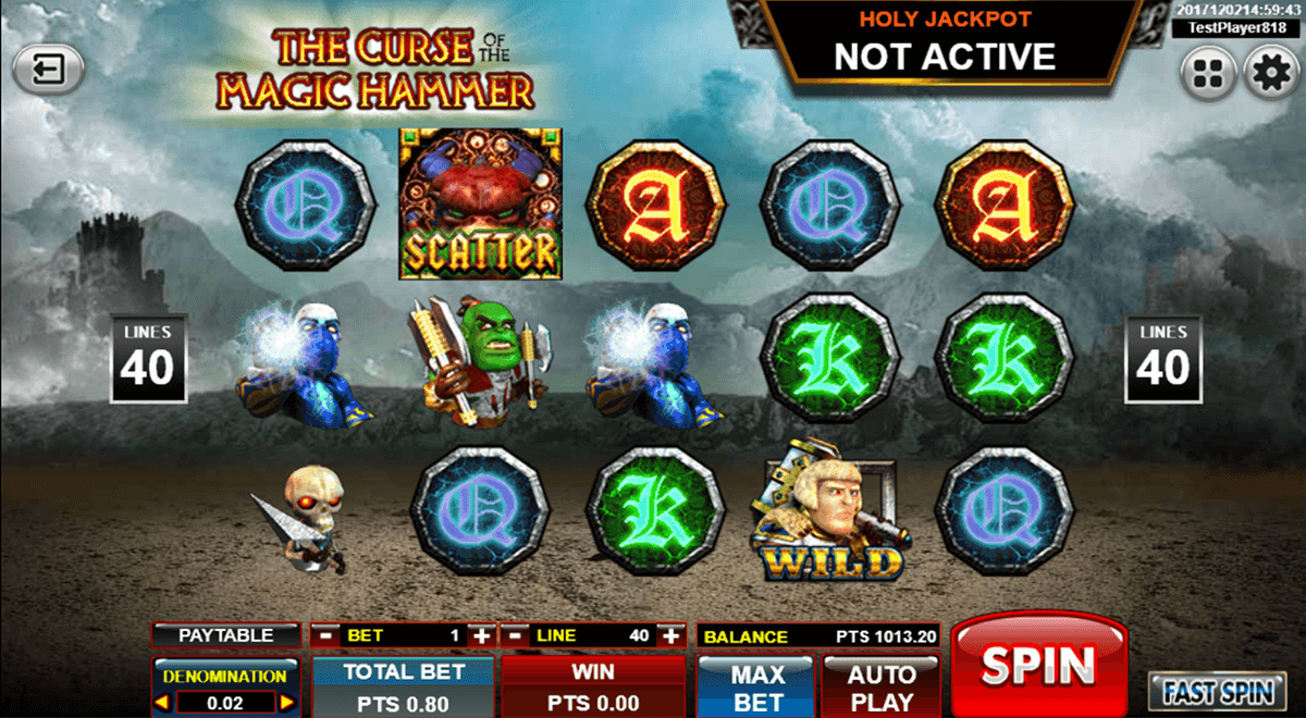 The Curse Of The Magic Hammer Slot Machine Online ᐈ