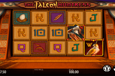 THE FALCON HUNTRESS THUNDERKICK CASINO SLOTS