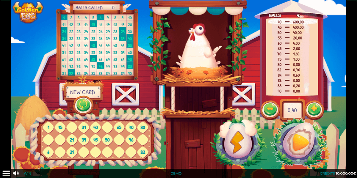the golden egg spinmatic casino slots