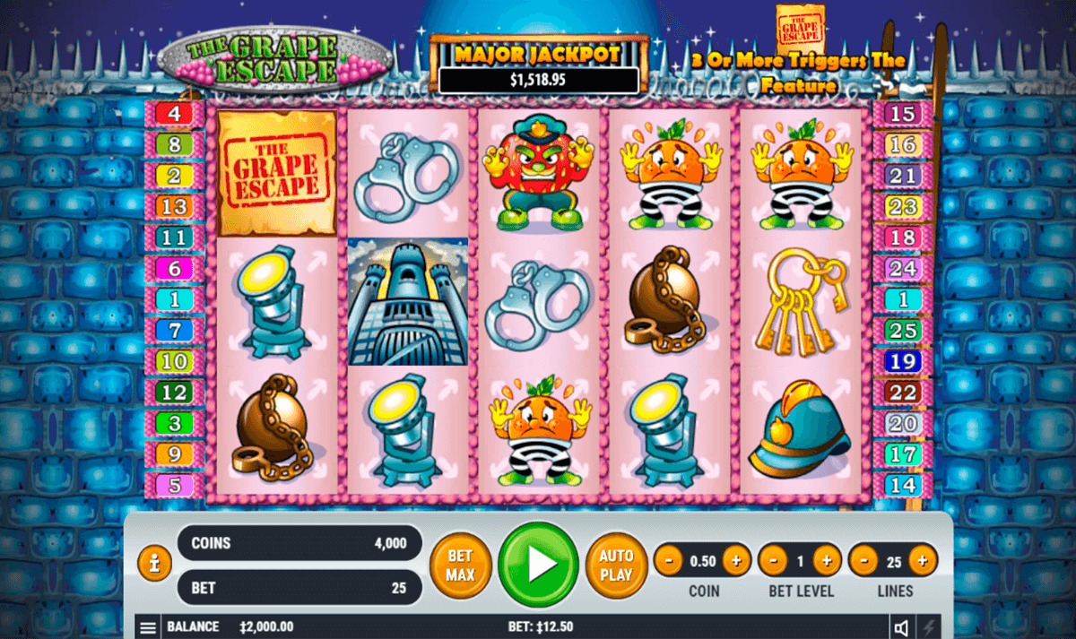 Spiele Grape Escape - Video Slots Online