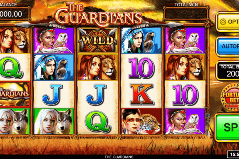 THE GUARDIANS INSPIRED GAMING CASINO SLOTS