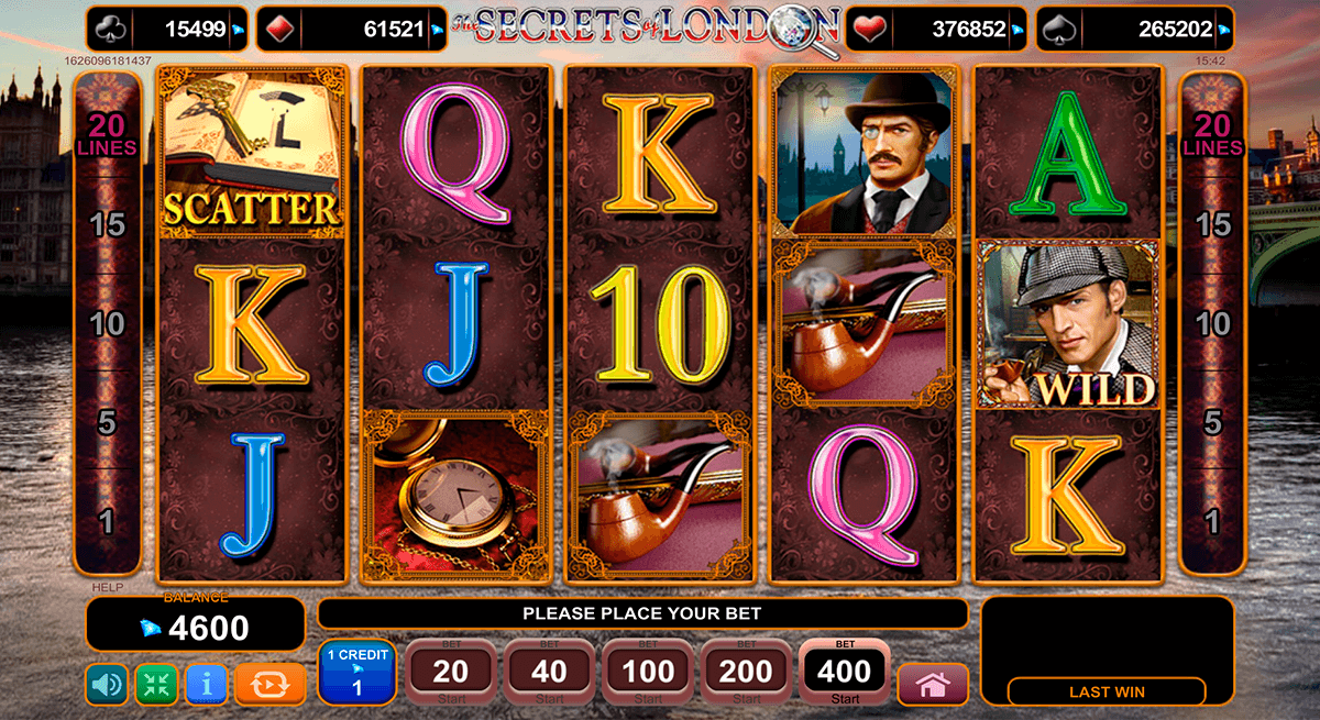 Spiele The Secrets Of London - Video Slots Online