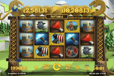 THE VIKINGS MAGNET GAMING CASINO SLOTS