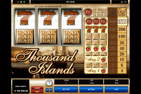 THOUSAND ISLANDS MICROGAMING CASINO SLOTS