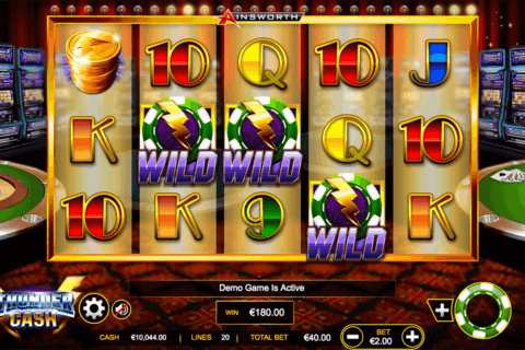 thunder cash ainsworth casino slots