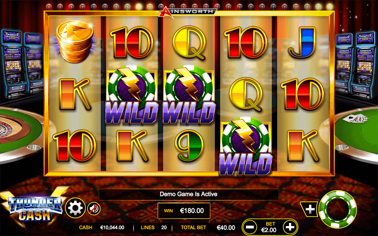Thunder Cash Slot Machine Online ᐈ Ainsworth Casino Slots