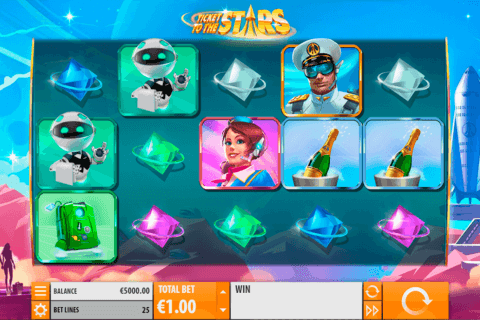 TICKET TO THE STARS QUICKSPIN CASINO SLOTS