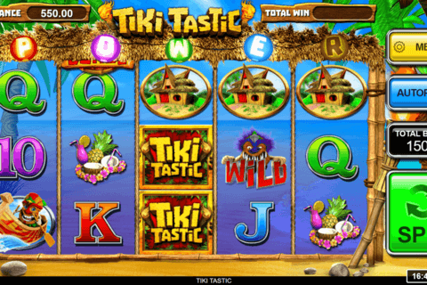 TIKI TASTIC INSPIRED GAMING CASINO SLOTS