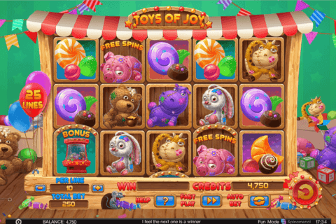 TOYS OF JOY SPINOMENAL CASINO SLOTS