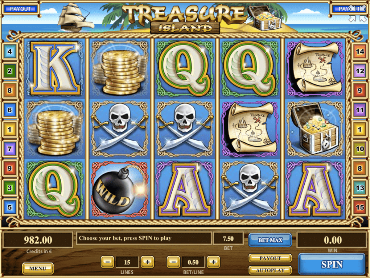 TREASURE ISLAND TOM HORN CASINO SLOTS