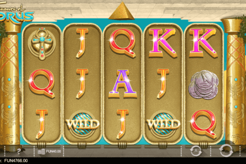 TREASURE OF HORUS IRON DOG CASINO SLOTS