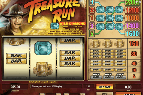 treasure run tom horn casino slots