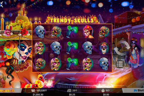 TRENDY SKULLS MRSLOTTY CASINO SLOTS