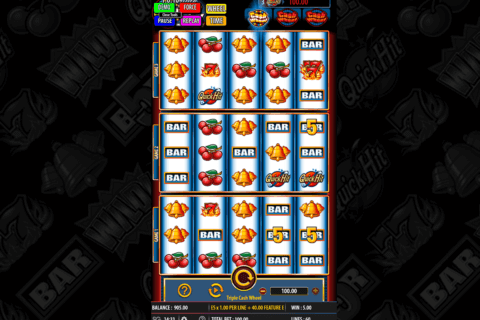 TRIPLE CASH WHEEL BALLY CASINO SLOTS