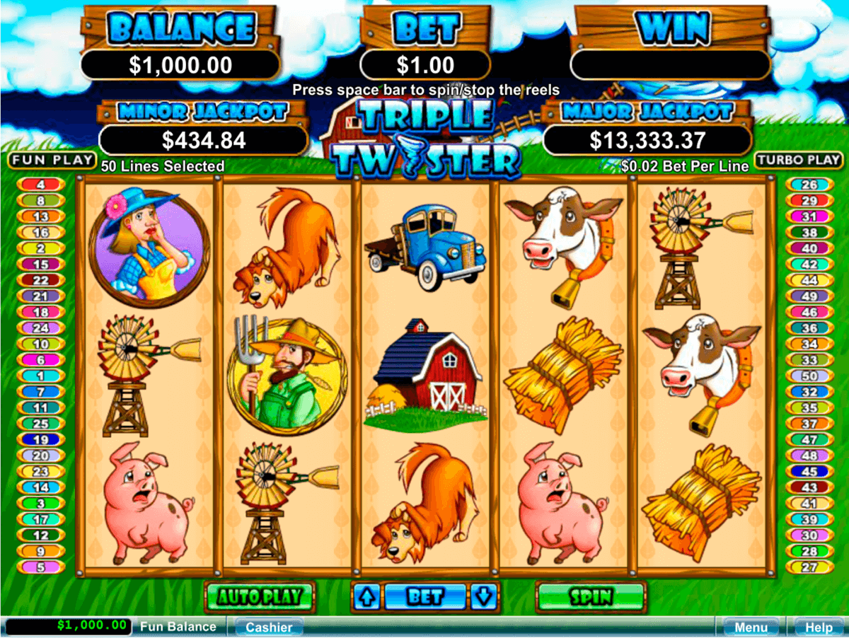 Spiele Twister (Microgaming) - Video Slots Online