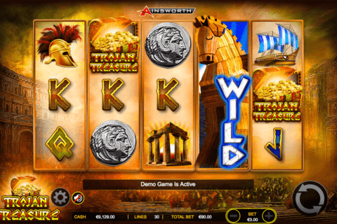 TROJAN TREASURE AINSWORTH CASINO SLOTS