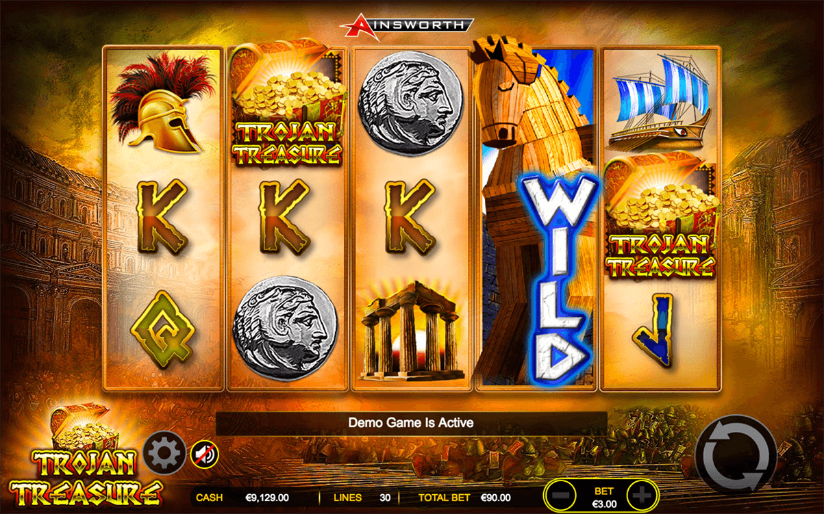 Trojan Treasure Slot Machine Online ᐈ Ainsworth™ Casino Slots