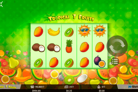 TROPICAL 7 FRUITS MRSLOTTY CASINO SLOTS