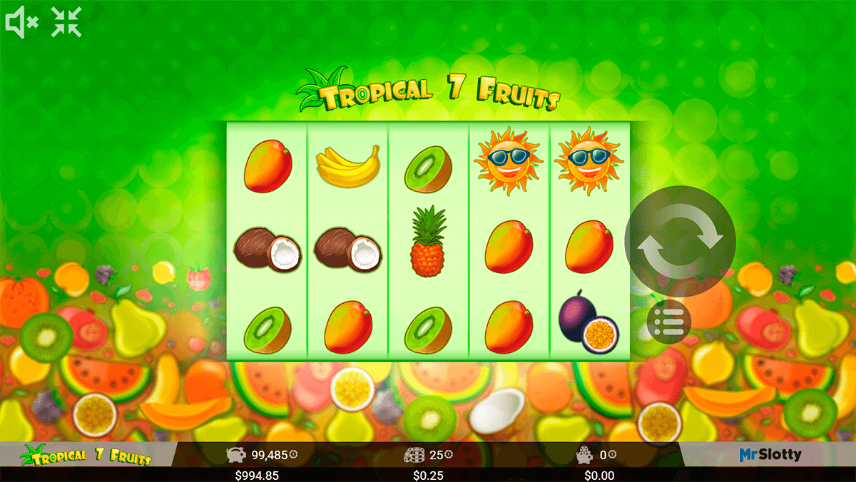 Wild 7 Fruits Slot Machine Online ᐈ MrSlotty™ Casino Slots