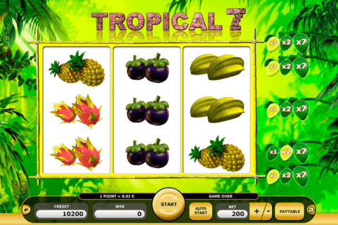 tropical 7 kajot casino slots