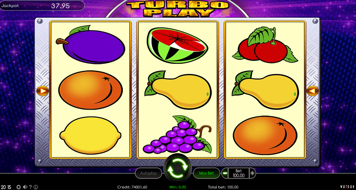 TURBO PLAY WAZDAN CASINO SLOTS