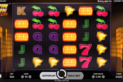 TWIN SPIN DELUXE NETENT CASINO SLOTS