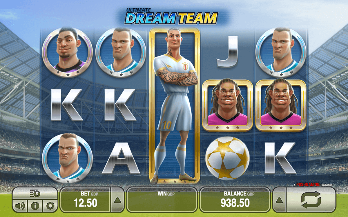 ULTIMATE DREAM TEAM PUSH GAMING CASINO SLOTS