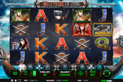 VALKYRIES OF ODIN STAKE LOGIC CASINO SLOTS