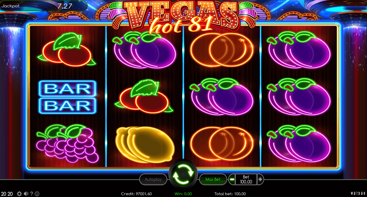 VEGAS HOT 81 WAZDAN CASINO SLOTS