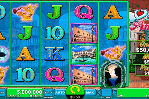 VENICE AMORE SPIN GAMES CASINO SLOTS