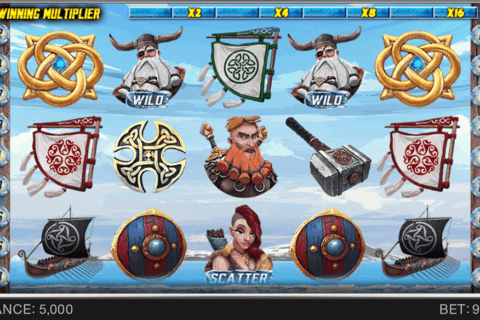 VIKINGS GLORY SPINOMENAL CASINO SLOTS
